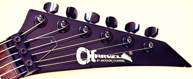 Charvel Model Headstock