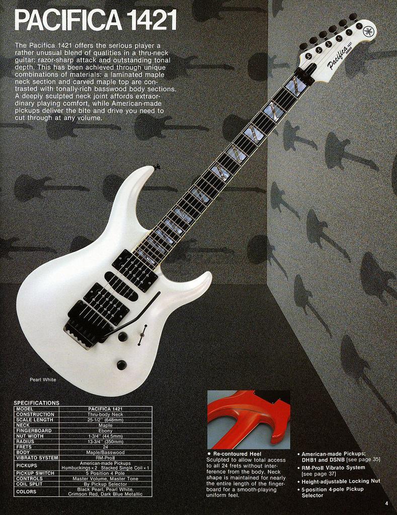 Yamaha Pacifica Neck
