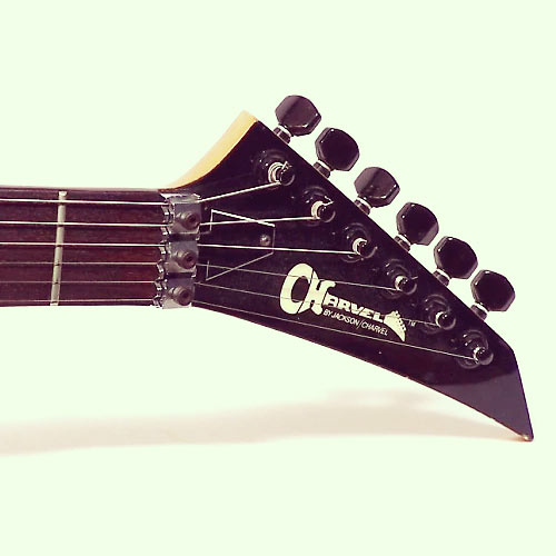 Charvel Model 2 headstock