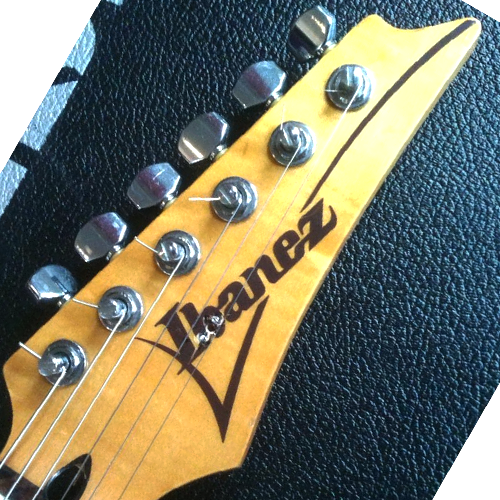 Ibanez RT 450 headstock