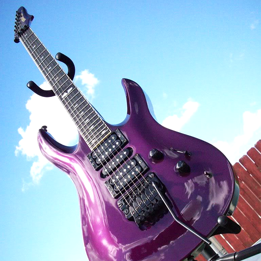 Yamaha RGX Custom Purple