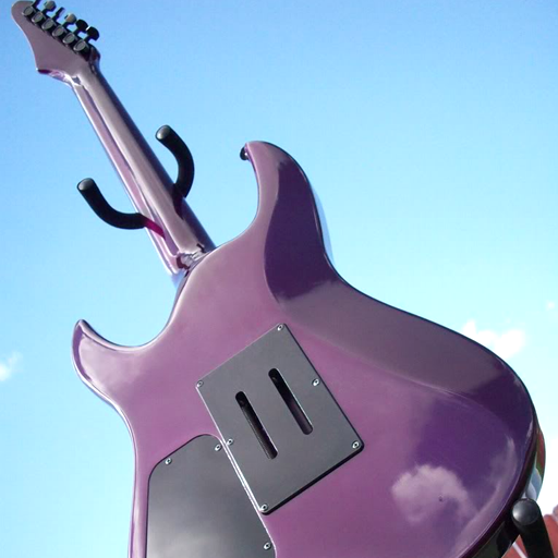 Yamaha RGX Custom Purple Back