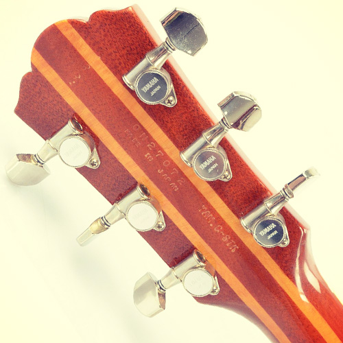 Yamaha Weddington Custom tuners