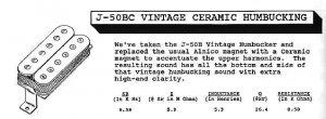 Jackson J-50BC Description