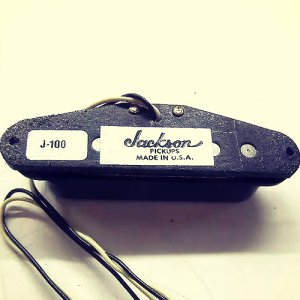 Jackson J-100 single coil pick up