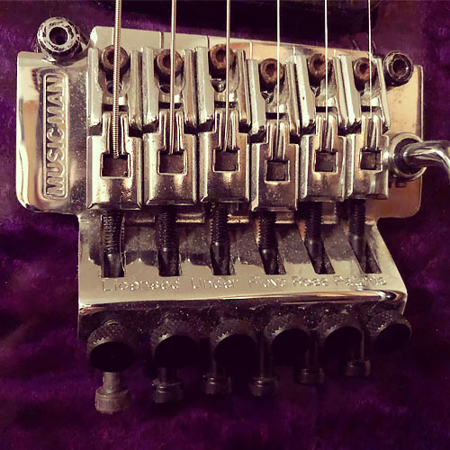 MusicMan EVH Floyd Rose
