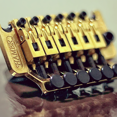 Schaller Licensed Floyd Rose Tremolo Hamer
