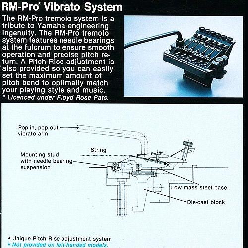 Yamaha RM-Pro catalog
