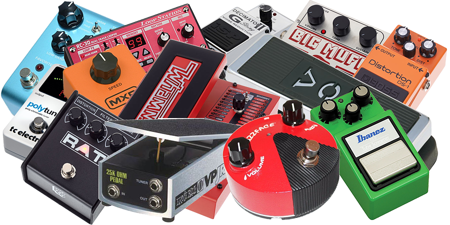 Guitar Gear Effect Pedals