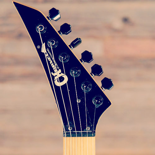 Charvel Model 7 headstock