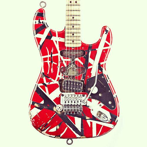 EVH Eddie Van Halen Frankenstein Replica Tribute