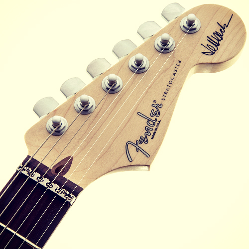 Fender Jeff Beck Signature Version 2 headstock
