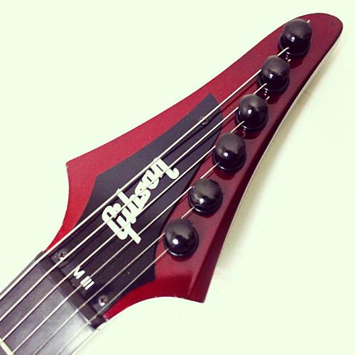 Gibson M-III All American headstock