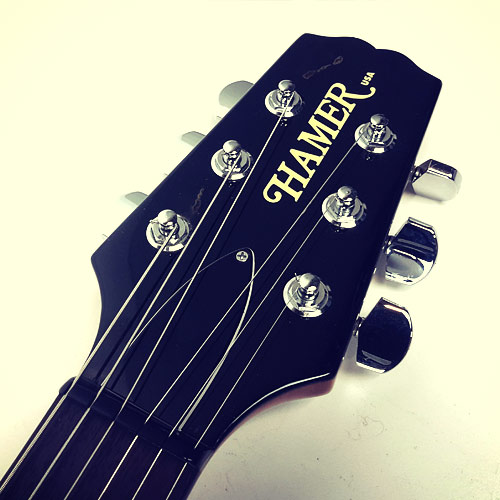 Hamer Mirage II headstock