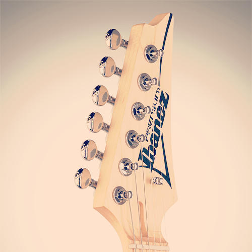 Ibanez Andy Timmons AT10P headstock