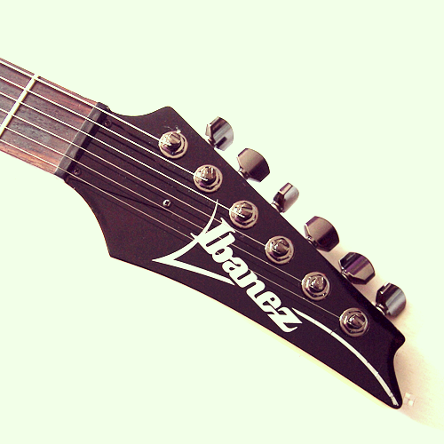 Ibanez SF470 headstock