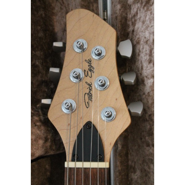 Patrick Eggle Los Angeles Pro 22 Headstock