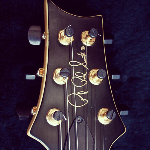 PRS CE24 Headstock Black