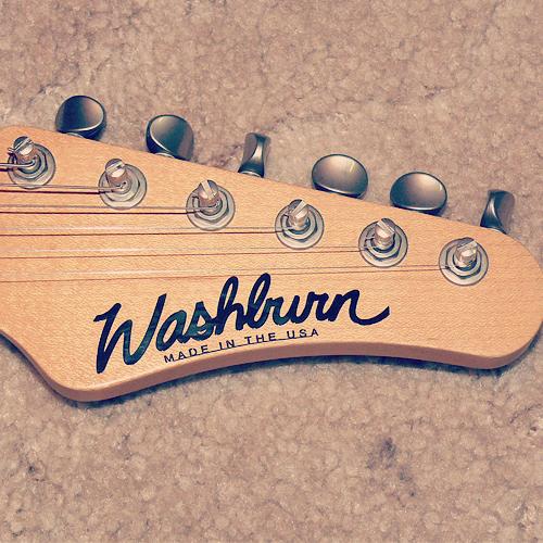 Washburn Mercury MG120 headstock