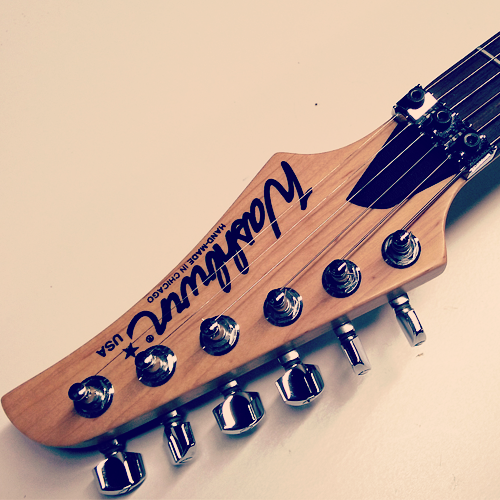 Washburn Mercury MG94 headstock