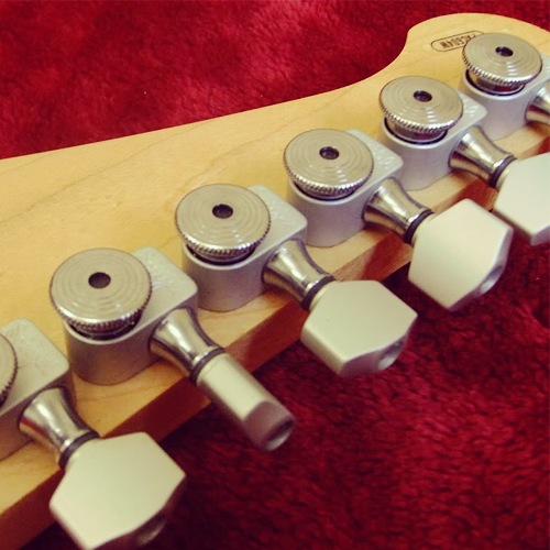 Yamaha Pacifica 604W Sperzel Locking tuners