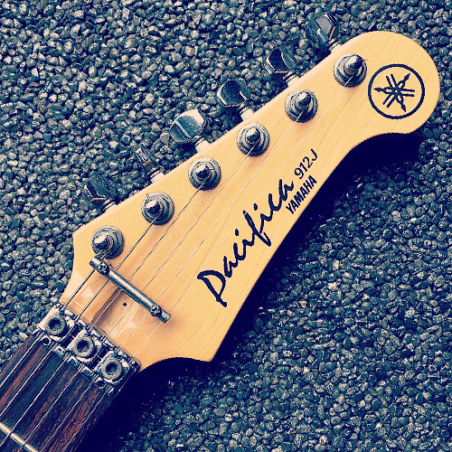 Yamaha Pacifica 912J headstock