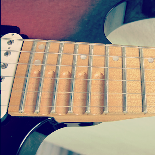Yamaha RGX 621DM Scalloped Frets
