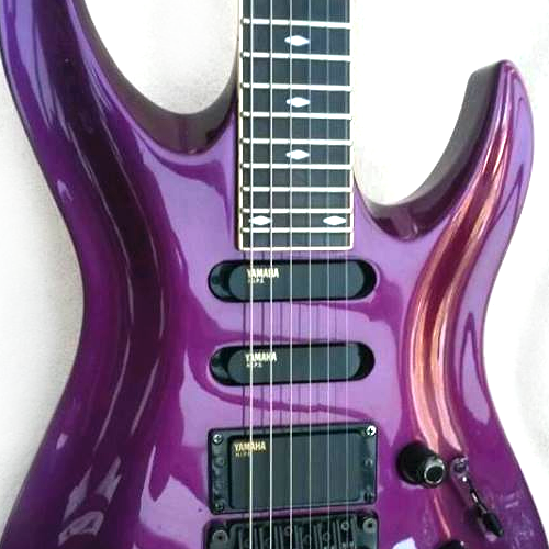 Yamaha RGZ Custom Front Purple