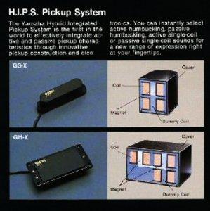 Yamaha HIPS pickup system